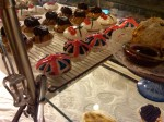 Union Jack Pastries at Maison Bertaux